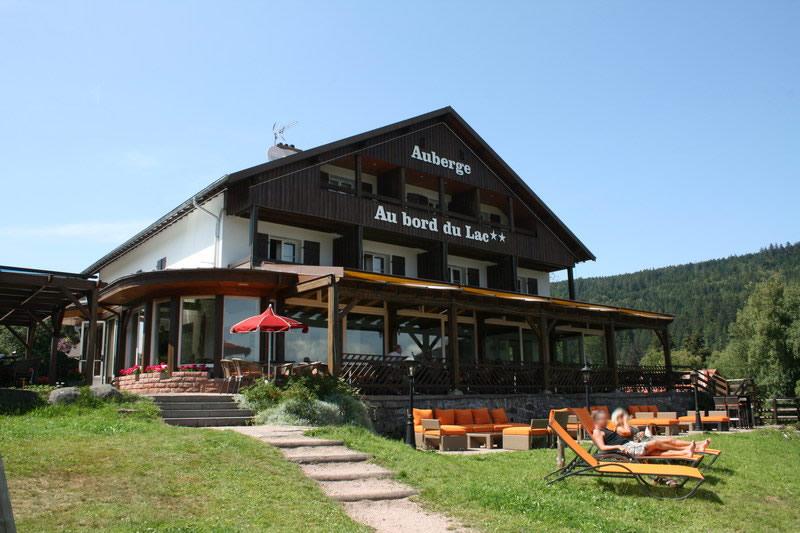 Auberge au bord du lac g rardmer h tel restaurant auberge for Gerardmer hotel des bains